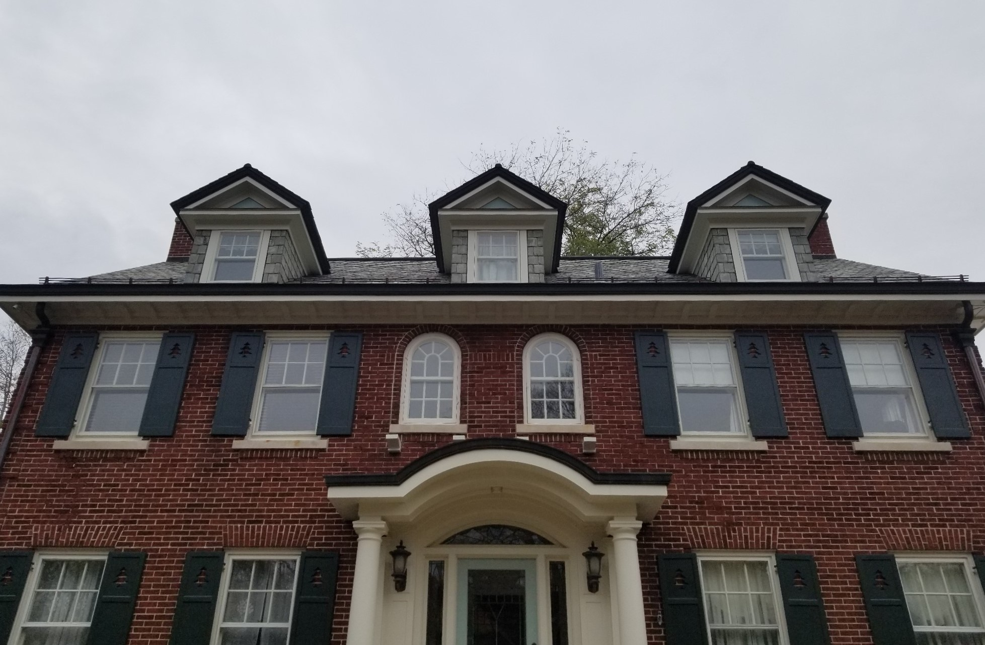 AHS brick house